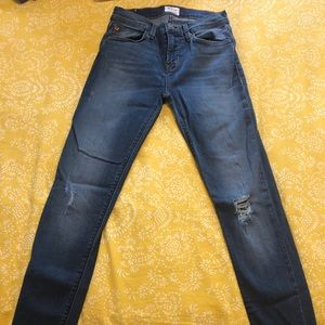 Woman's Hudson skinny stretch jeans size 25